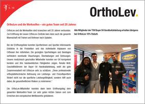 """Zum Sponsoring gehört ein Bericht über OrthoLev im Magazin """"Elfenzauber"""""""