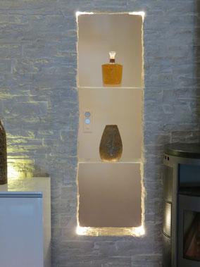 Steinwerke.ch moderne Wandverkleidung - Deko - Design - Wandpaneele, Modern - Elegant - Exklusiv - Steinwandbeleuchtung - Kunststein - Ambiente
