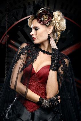 Schwarze Hochzeitskleider, besondere Brautmode, Alternative Brautkleider