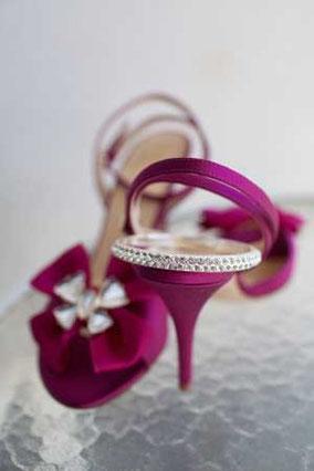 紫 ミュール