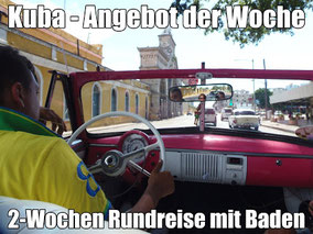 Kuba zu Ostern frei 24.März bis 7.4. (zurück 8.April 2018) 7 Nächte Rundreise & 7 Nächte Badeurlaub mit Linienflug