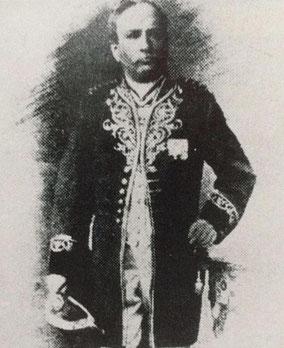 Der erste Landrat des Oberlahnkreises: Friedrich Wilhelm Oskar Hahn im Gründungsjahr 1867