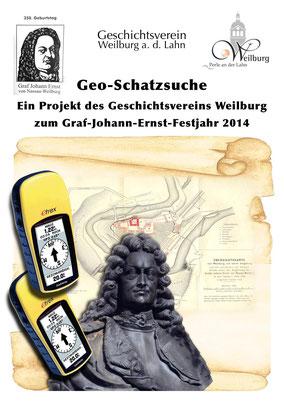 """Wem verdankt die barocke Residenzstadt ihr heutiges Aussehen? Die Geo-Schatzsuche """"Johann Ernst"""" verrät mehr über den Grafen aus dem Hause Nassau-Weilburg, dem Weilburg nicht nur die wunderschöne Schlossanlage zu verdanken hat."""