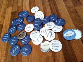 Pack badges Baptême