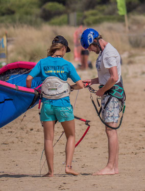 Get the basics in Kitesurfing!