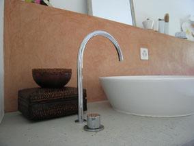 Tadelakt, Kalk, Badezimmer
