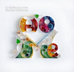 quilling, quilling art, paper, paper art, design, wall art, quilling wall art, home, Etsy, любовь пазлы квиллинг, бумага, дизайн