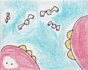 Emmanuelle Bec artiste, dessin, crayons de couleur