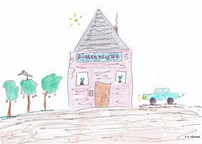 Öffentliche Verwaltung des Königreiches Ellerbäh, Sitz des Bürgermeisters, Dienstwagen