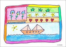 Tag der Schiffahrt und der Rechtschreibung in Ellerbäh
