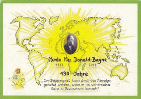Diese Postkarte aus Bhutan legte 7000 Kilometer zurück