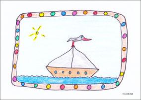 Die Weihnachtsmöwe kommt mit dem Schiff ...