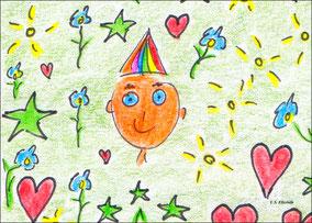Der junge Sonnen-, Sternen-, Herzens- und Blumenprinz