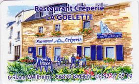 crêperie La Goélette à Baden - Morbihan