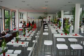 Eventbestuhlung in der Wappenhalle München, www.genusskuenstler.de