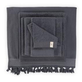 Walra handdoeken antraciet