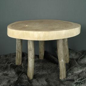 houten bijzet tafel