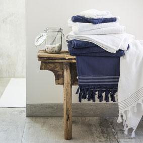 handdoeken en badlakens en hamamoeken