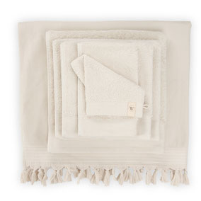 Walra handdoeken kiezel grijs