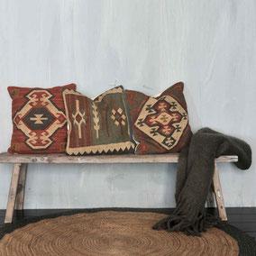 Sierkussens met African style