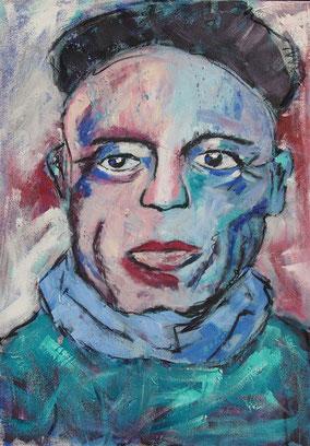 Moderne Portraitmalerei von Linda Ferrante