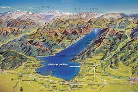 Lake Garda Map Holiday Rental