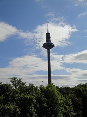 Frankfurt Fernmeldeturm Ginnheimer Spargel