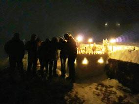 Silvester-Schneebar 2017