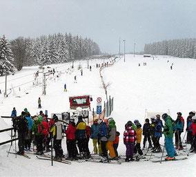 Schmiedefelder Skilift am Eisenberg