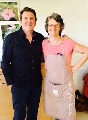 Le grand pâtissier Christophe Felder de passage à l'atelier des ados