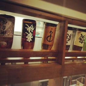 日本酒・焼酎各種あります