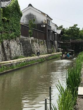 近江八幡の八幡堀