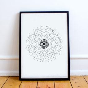 Third Eye Print 25.-