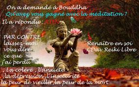 La méditation CDav reiki libre