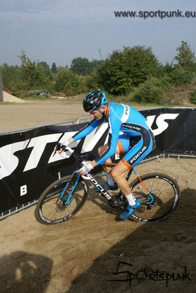 Focus Deutschland Cup Cross in Hamburg Horn Trabrennbahn 2015