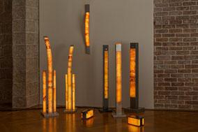 Unsere Leuchtenkollektion, Salzsteinleuchten (Salzlampen) von Julian & Lasaroff®