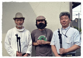 左から、Franciscoさん、プロデューサー、設楽さん