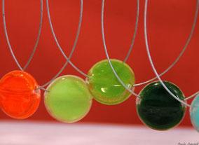 Bijoux en verre : pendentifs, bagues, bracelets, boucles d'oreilles