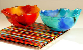 Bols,assiettes en verre pour les arts de la table
