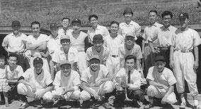 若丹野球大会(福知山球場) 1957年
