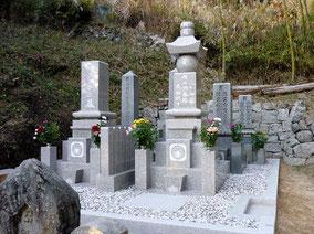 10寸先祖墓+五輪塔:総社