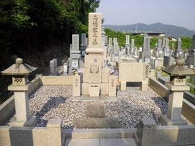 11寸先祖墓+墓前灯篭:岡山