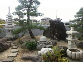 七重の塔と銭鉢・万成石