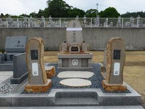 万成石自然石墓
