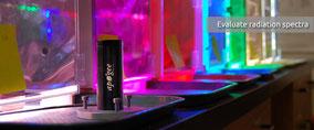 Mesurer avec un spectrordiomètres l'instensité lumineuse - capteurs Agralis