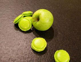 Macarons à la pomme Granny