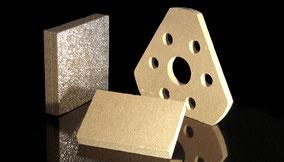 Fertigung – Ausschnitte, Stanzteile, CNC-Bearbeitung, Wasserstrahlzuschnitte, Verbundelemente