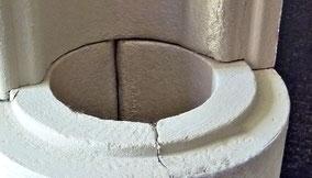 Mikroporöse Halbschalen für Rohrleitungen
