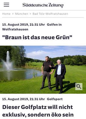 Süddeutsche Zeitung 15.08.2019