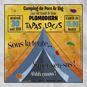 Annonce Tapas Locas de jour de tapas, le lundi midi